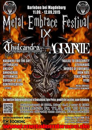 Metal Embrace Festival