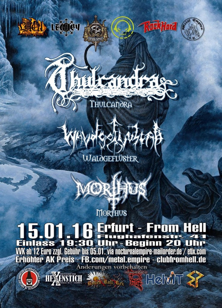 Thulcandra @ Club From Hell, Erfurt