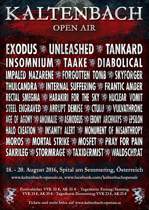 Thulcandra | Kaltenbach Open Air 2016