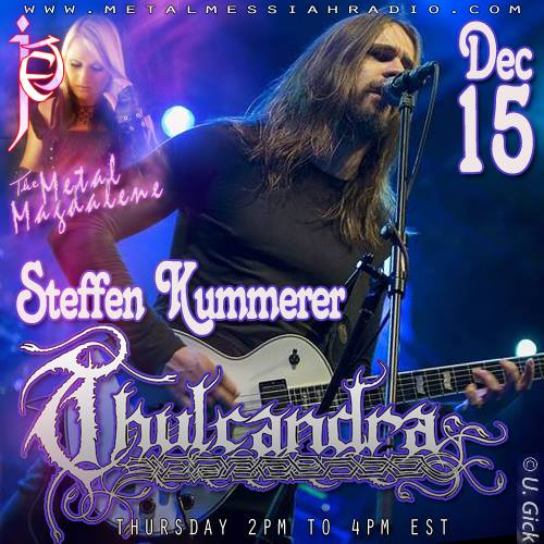 Thulcandra Radio interview w/ Metal Messiah Radio