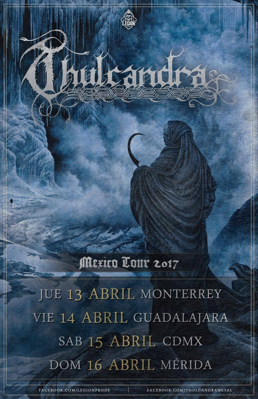 Thulcandra - Mexico Tour 2017