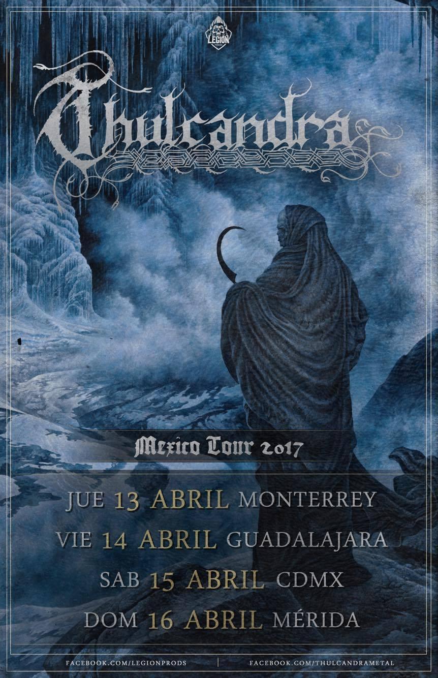 Thulcandra - Mexico Tour 2017