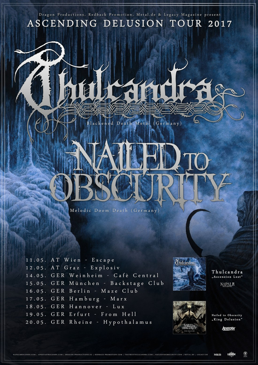 Thulcandra | Ascension to Delusion Tour 2017